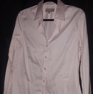 Banana Republic long sleeved button down blouse